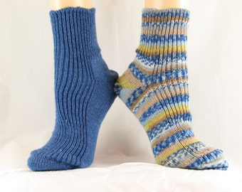 Mismatched Shortie Hand Cranked Socks-Free Shipping