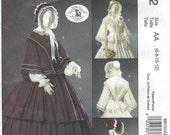UNCUT McCall's 5132 Misses' Civil War Costume Pattern Size 6-8-10-12