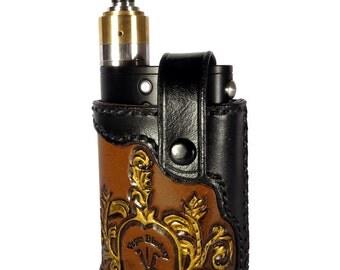 Filigree Vape Shield Leather holster