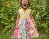 """On SALE!   Girls  """"I'm so Happy"""" polka dot tank dress .     Available girls 12 months to 12 years."""