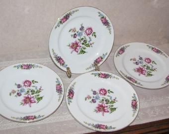 Monarch Belvedere Occupied Japan Salad Plate - Set of 4
