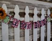 Mason Jar I Do BBQ Banner, Love Bugs, Lightning Bugs, Bar-B-Que Banner, Mason Jar Banner, Engagement Banner, Engagement Party , BBQ Decor