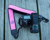 Monogram Camera Strap