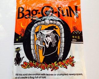 Vintage Halloween 3 FT Bag-O-Fun