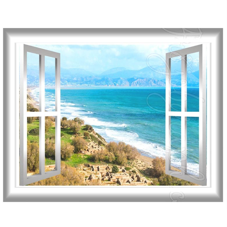 window frame scene wall art gj07 zoom