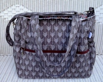 Asher CUSTOM Twins Diaper Bag and Changing Pad