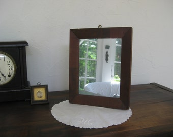 small, simple shaving mirror