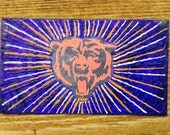 Chicago Bears Oil Hand Painted Magnet ACEO