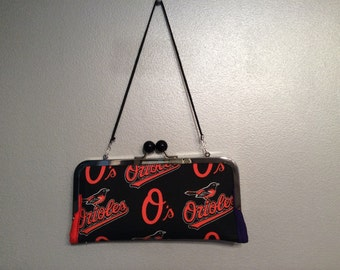 Baltimore Orioles/Ravens clutch/wallet