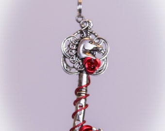 Unicorn Key Necklace - Chose your own colour