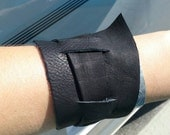 Made to Order Adjustable Leather Wrap Cuff Bracelet