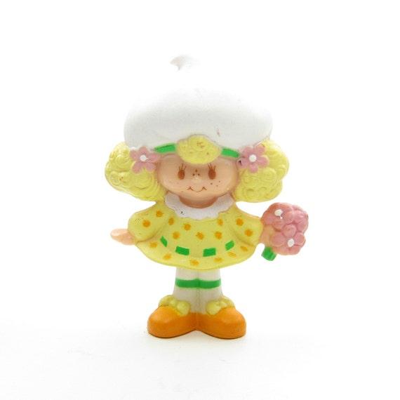 Lemon Meringue Picking a Flower Miniature Figurine