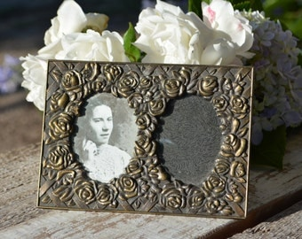 Vintage Picture Frame, Country French Decor, Antique French Frame, Parisian Decor