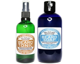 all natural deluxe beard grooming kit beard care by drksoapcompany. Black Bedroom Furniture Sets. Home Design Ideas