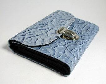 "purse ""blue rose"""