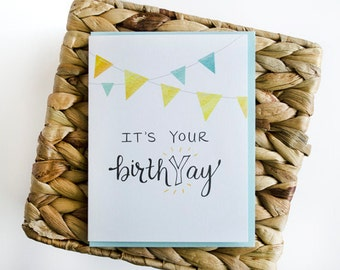 BirthYay Greeting Card