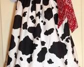 Cow Girl dress / Jesse dress / Cow Girl Pillowcase dress / Toy Story Birthday / Cow Girl Birthday Dress / Cow Girl Birthday / Cowboy Dress