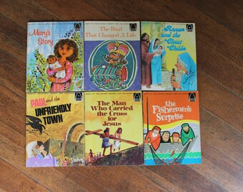 Vintage Children's Books Instant Collection - Arch Books - Set of 6 (Quality Religious Books for Children)