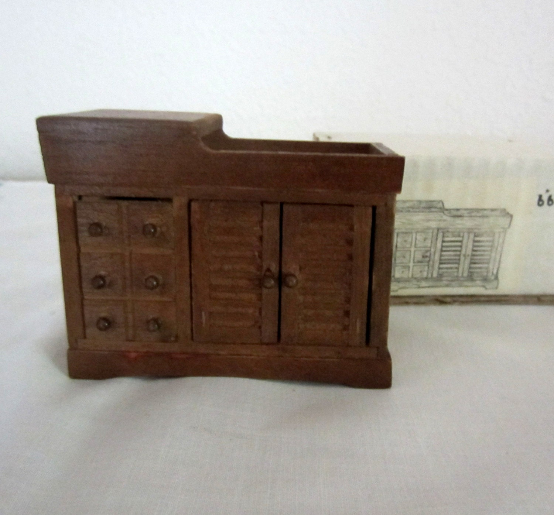 vintage dollhouse furniture sink drysink by