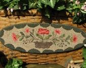 Goos Nest Garden Memories Punchneedle Embroidery Pattern