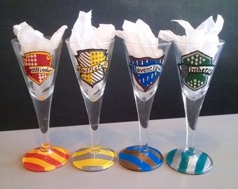 Individual Harry Potter Hogwarts House Shot Glasses