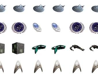 Nail Decal-Star Trek