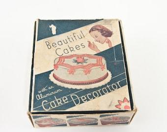 Vintage Cake Decorator, Vintage Kitchen, 1950's Kitchen