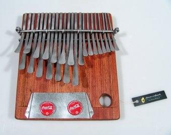 23 Key Large Mbira Thumb Piano Kalimba - Nhare Tuned - by Cypren Handmade in Zimbabwe. Ships fast from USA!