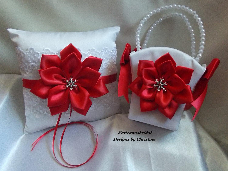 Wedding Ring Bearer Pillow And Flower Girl By Katieannsbridal