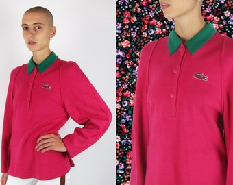 LACOSTE by CHRISTOPHE LEMAIRE  Long Sleeve Polo Top