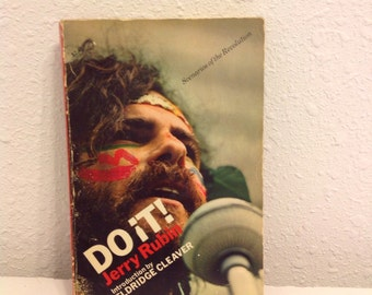 Do It! By Jerry Rubin, Second Paperback Printing 1970, Scenarios of the Revolution, Eldridge Cleaver