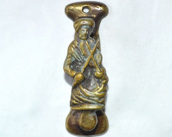Door Knocker The Old Fiddle York Minster Made in England 1930s