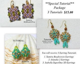 Beading Tutorial, Beading Pattern, Jewelry Tutorial,Beading Instructions,Seed Bead Tutorial,PDF, Superduo Tutorial, Bead Pattern,MyBeads4You