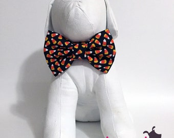 Candy Corn Halloween Fall October Bow Tie