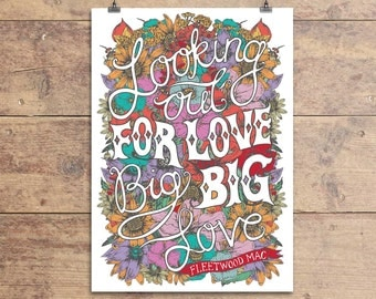 Fleetwood Mac Big Love Greeting Card