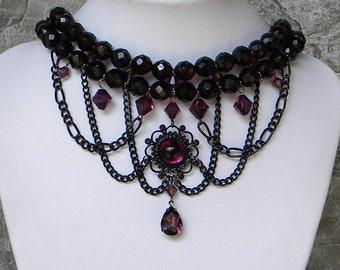 Goth Madam..... black amethyst