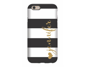 Personalized iPhone 6 case, Signature, iPhone 5 case, iPhone tough case, iPhone snap on case, 3d iPhone case