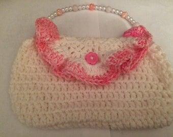 Pink Crochet Dream Purse