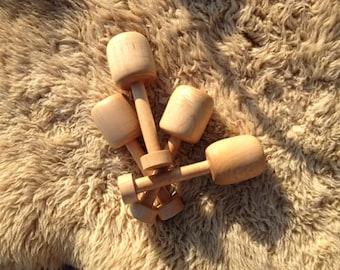 Wood Bobbins~ Viking Bobbins~Braiding Bobbins~  Whipcording Bobbins ~Viking Cord Making ~ Viking Braiding Bobbins~ Norse Bobbins~