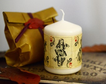 Alice in Wonderland Candles