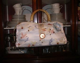 Flying Cranes Handbag