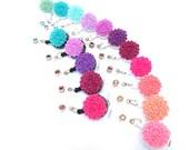 IMPERFECT DISCOUNT - Flower Badge Holders - Retractable Badge Reels - ID Badge Retractors - Nurse Gifts - Cute Name Badge Pull - BadgeBlooms