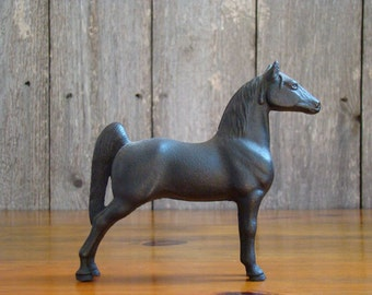 Still Parked - Vintage 1930s Cast Iron Five Gaited Horse Still Bank