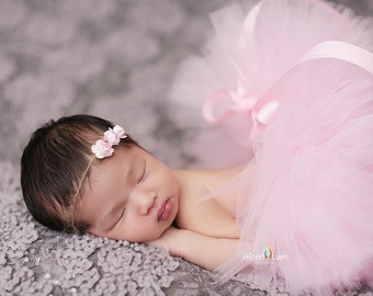 PINK NEWBORN TUTU, Newborn Tutu Set, Newborn Tutu, Baby Tutu, Newborn Photo Prop, Photo Prop, Tutus for Children, Tutu Set, Newborn