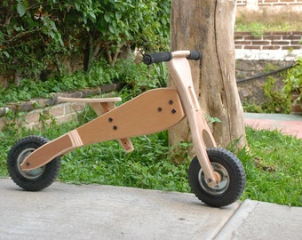 Wooden balance bike / Toddlers bike / wood bike