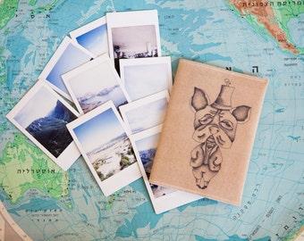 "Passport Cover ""Stylish Dog"""