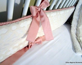 UPGRADE ONLY: Fabric Trim for bumper, Faux Dupioni Silk fabric