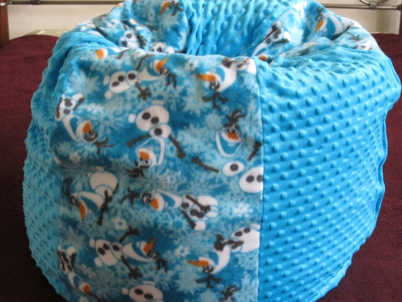 Immediate Shipment Olaf Frozen Bean Bag Chair By