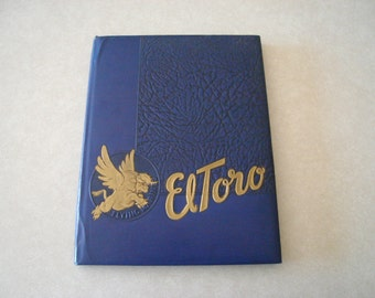 1947 El Toro MCAS Year Book USMC, Nice Early Edition, 70 Years Old This Year! WWII Marine Corps