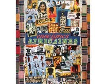 Unknown- Enseignes Africaines (1989) Offset Lithograph sku YY7451